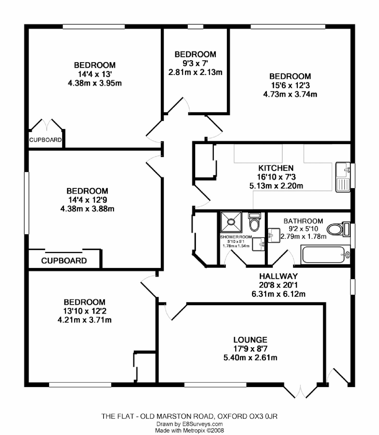 Old marston road marston ox3 ref 25001 oxford for Four bedroom maisonette plans