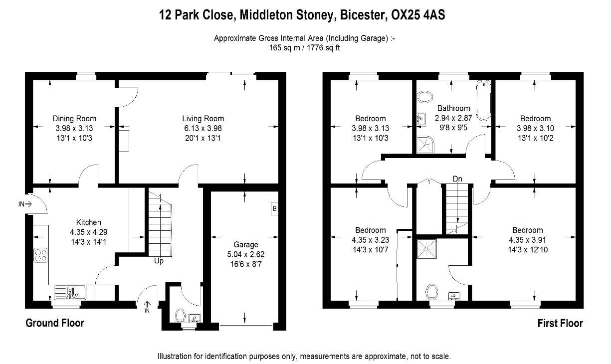 Middleton stoney nr bicester ox25 ref 30242 bicester for House layouts 4 bedroom