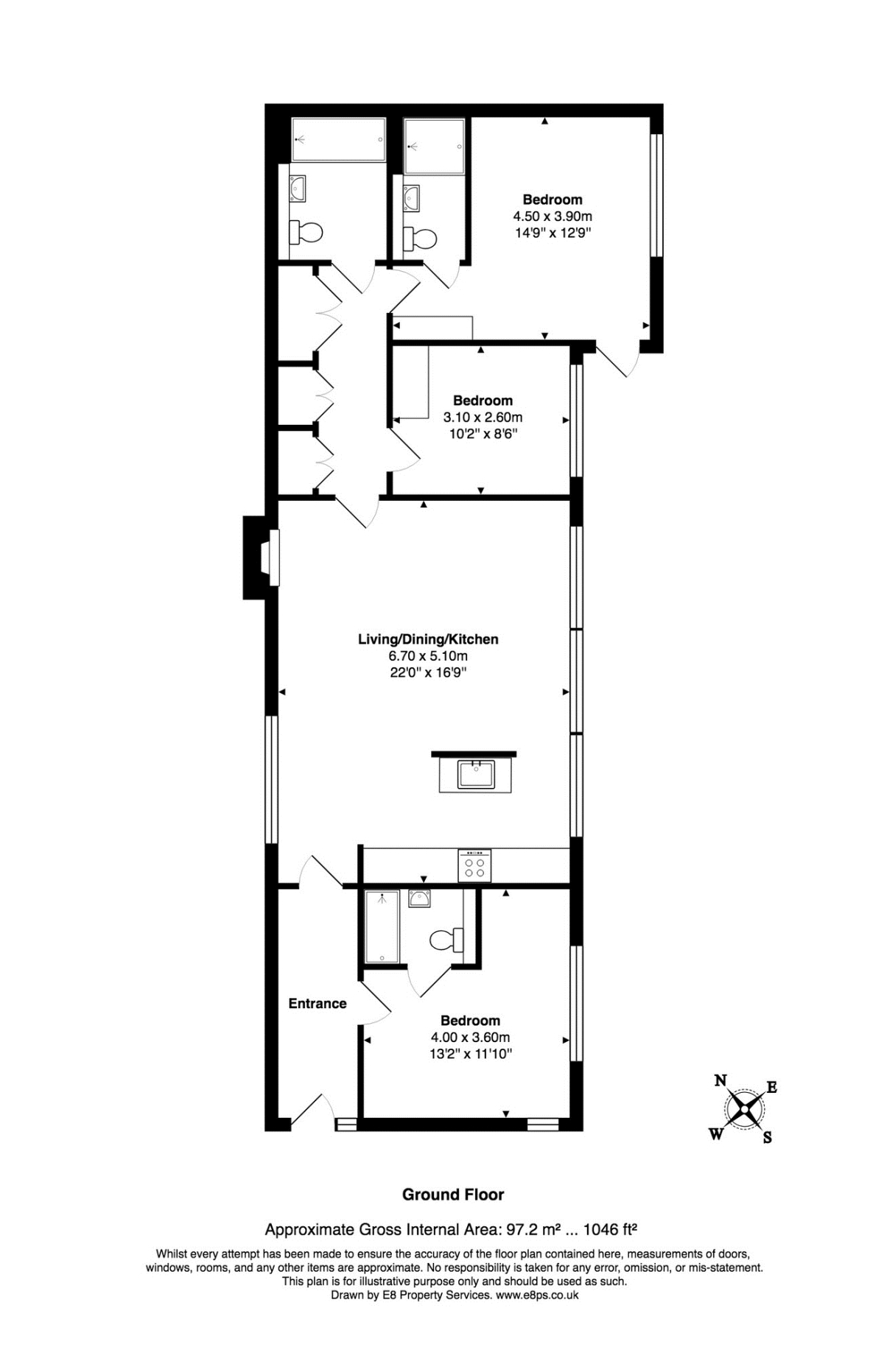 Floor plan · energy performance certificate
