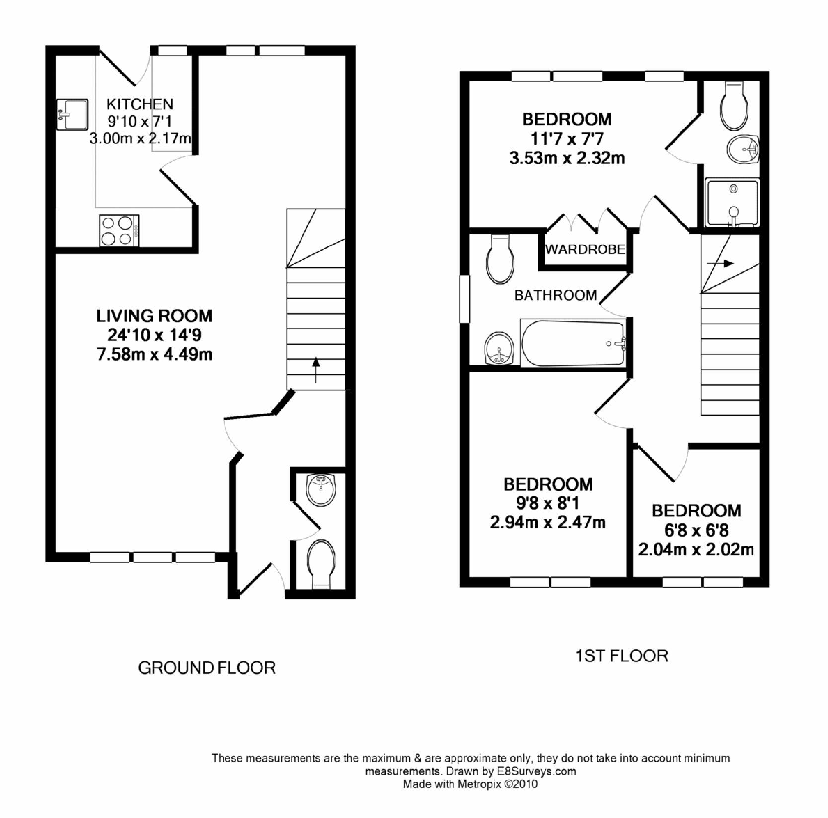 2 bedroom house floor plans uk thefloors co for 5 bedroom house plans uk
