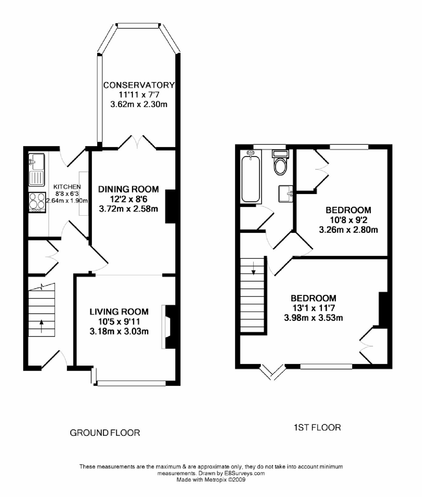 Sunningwell road oxford ox1 ref 50174 oxford for Uk house floor plans