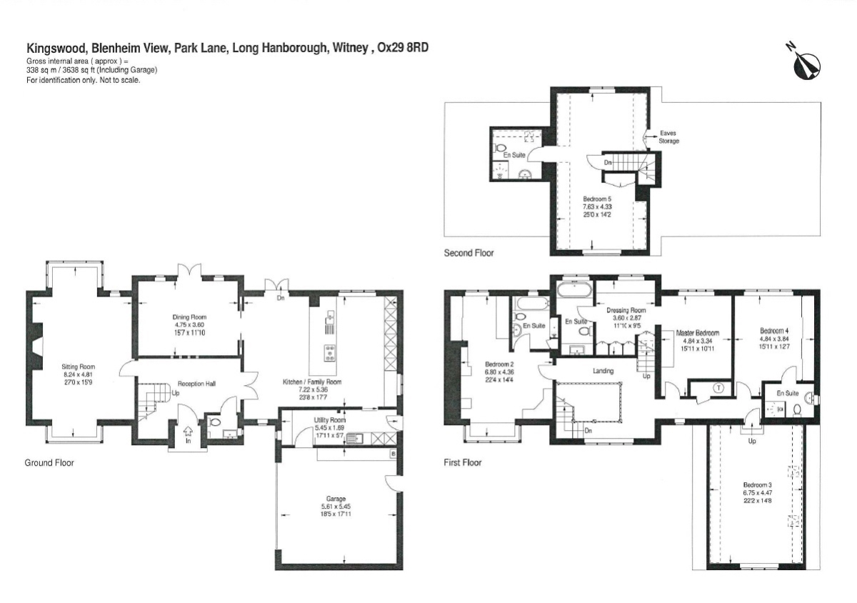 Blenheim view long hanborough ox29 ref 55143 woodstock for 5 bedroom house designs uk