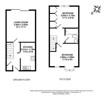 2 Bedroom House Floor Plans Uk – Council House Floor Plans