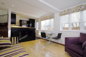 Careful furnishing increased the rent by 4.6%