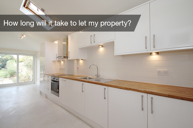 How long will it take to let my property