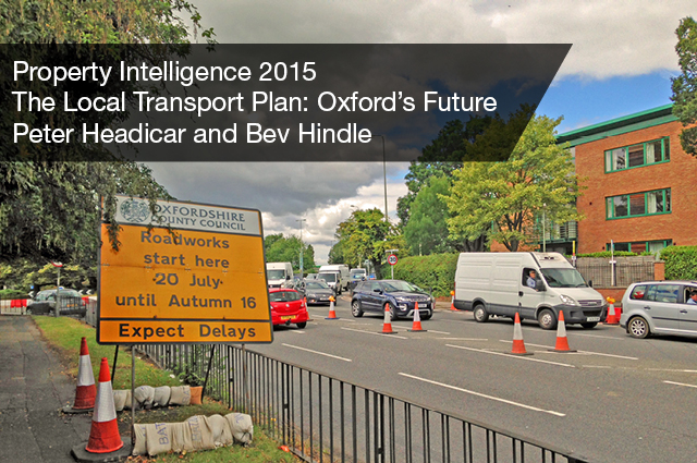 The Local Transport Plan Oxfordshire