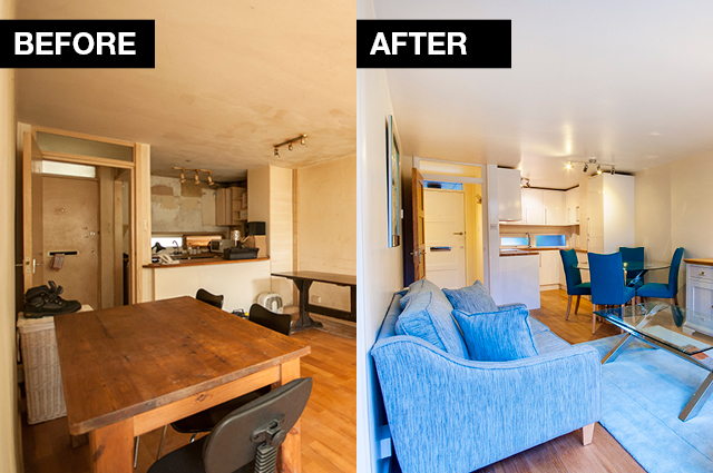 Discerning landlords will improve their current properties before and after