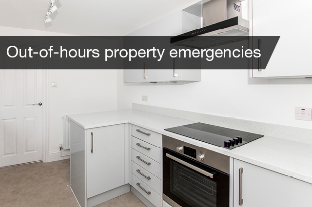 Out of hours emergencies