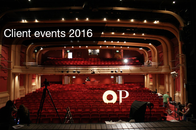 Oxford Playhouse Finders Keepers Client Event 2016